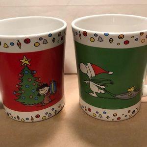Peanuts Christmas mugs - 2